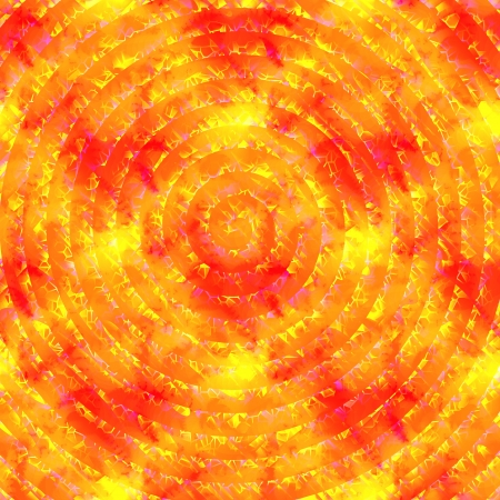 generating: Yellow orange abstract spiral background Stock Photo