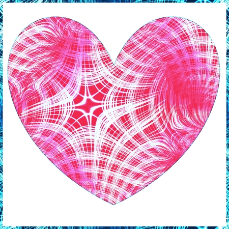Tileable heart pattern photo