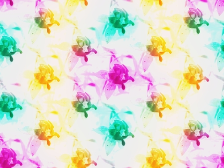 funy: Tileable floral abstract funy backround