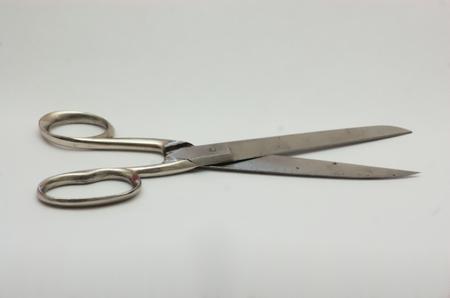 gaping: large tailor scissors