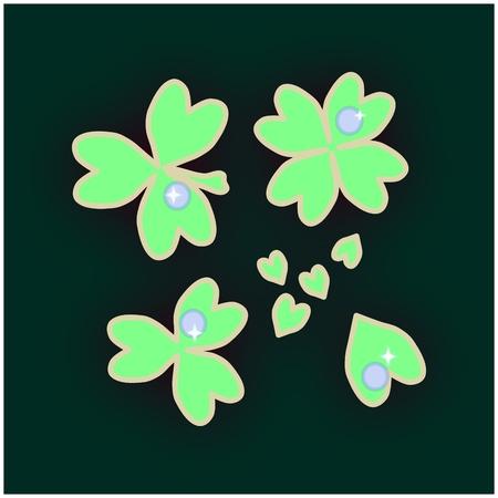 alfalfa: dewy clover