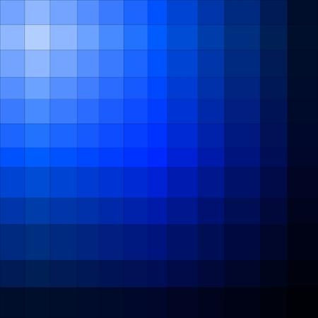 Blue gradient illusion