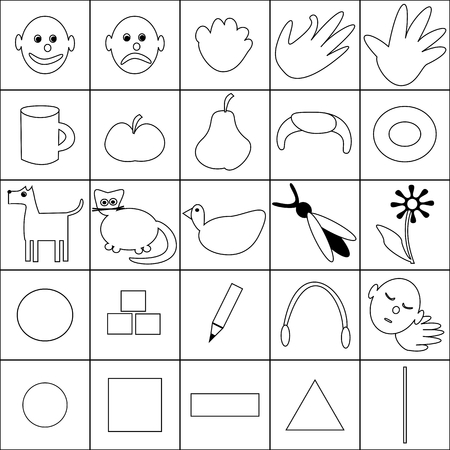 augmentation: Communication board pictograms