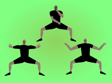 virile: Haka dancers