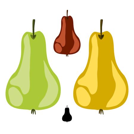 peristalsis: Pear Stock Photo
