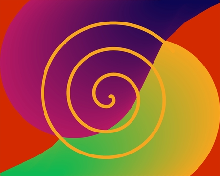 vivid colors: Abstract surreal background in vivid colors Illustration