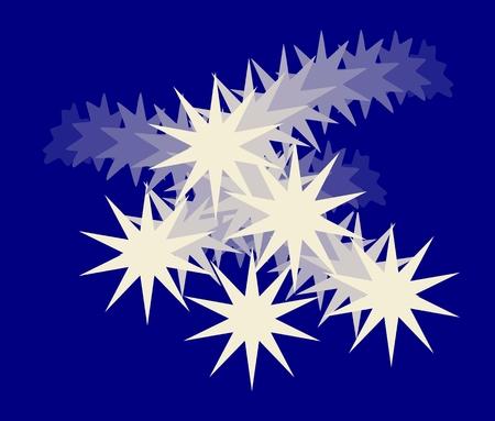 blau wei�: Blau Wei� abstrakten Hintergrund
