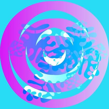 irregular: Abstract background meditation mandala irregular Stock Photo