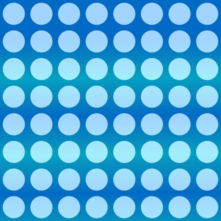 tonality: Blue polka dots background