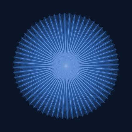 estrella azul: Resumen de antecedentes en forma de anillo centrado estrella azul