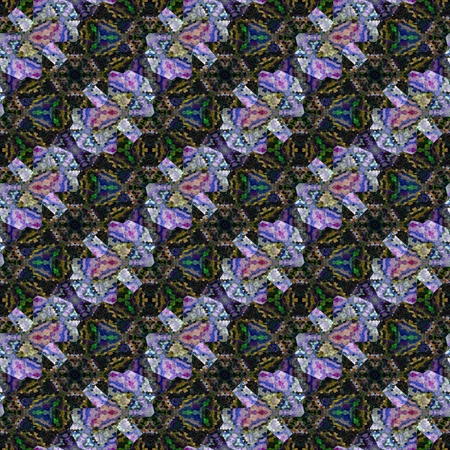 tonality: Abstract tileable seamless regular ornamental mosaic pattern Stock Photo