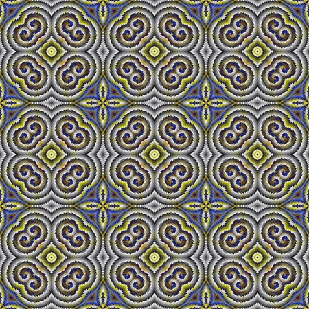 regular: Abstract tileable seamless regular ornamental mosaic pattern Stock Photo
