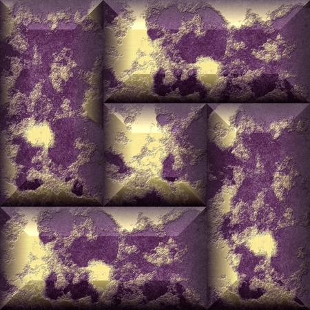 Gilded grunge panels tileable pattern photo