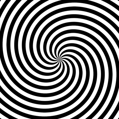Twirl motion illusion