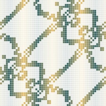 crocheted: Vintage curtain texture