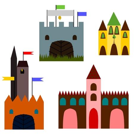 fairytale castle: Fairytale castle Illustration