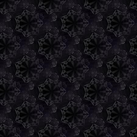 understated: Fantasy decorative snowflakes pattern Stock Photo
