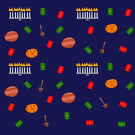 Bunte nahtlose dekorativ festlich Hintergrund