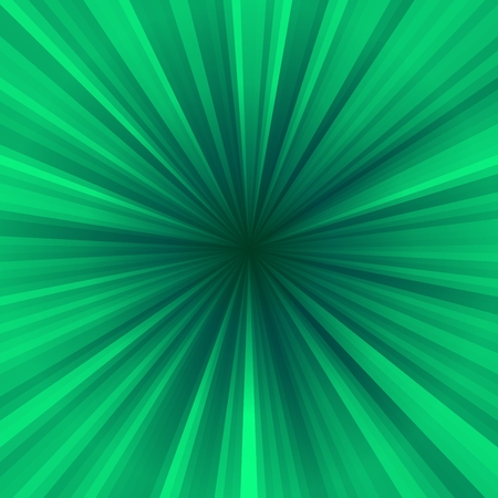 centralized: Green centralized rayed background
