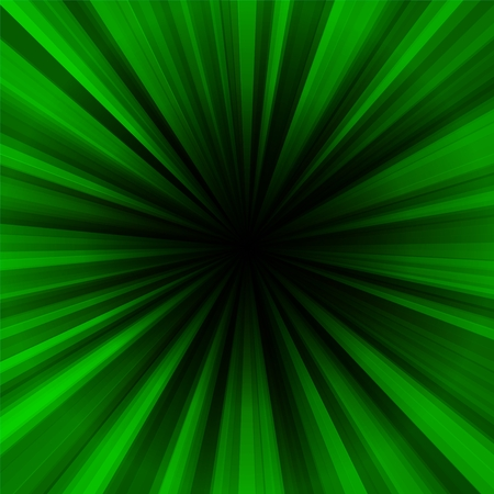 centralized: Deep green regular radial centralized background Stock Photo