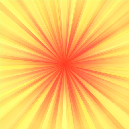 centralized: Soft yellow red regular radial centralized background