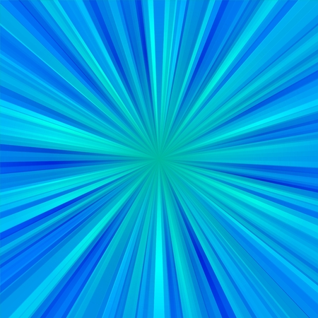 liberation: Abstract light blue centralized background of regular rays Stock Photo