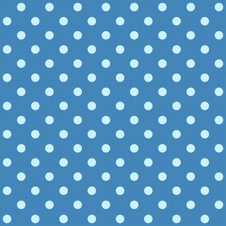 spotted: White spotted blue fabric. Stock Photo