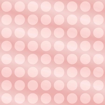 tonality: Soft pink polka dot background