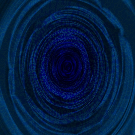 Blue abstract fractal background Stock Photo