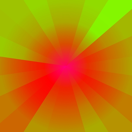 flare stack: Vibrant colors abstract background - computer generated graphic