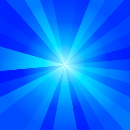 radiant: Cold blue tones abstract radiant background - computer generated graphic