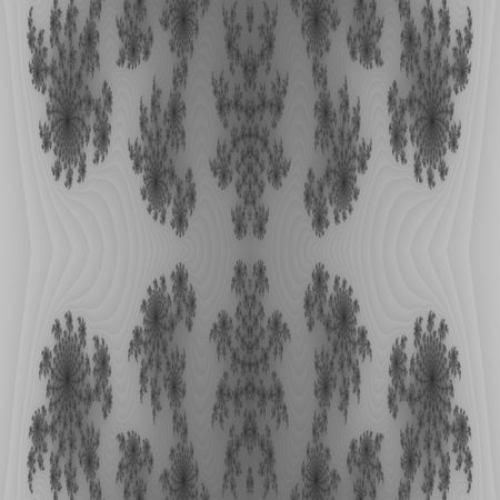 temperate: Abstract seamless fractal black white background