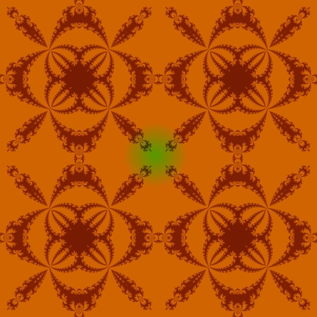 sidebar: Abstract fractal seamless regular mosaic pattern