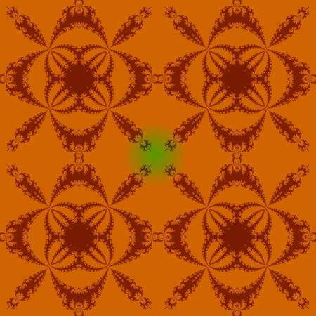 regular: Abstract fractal seamless regular mosaic pattern