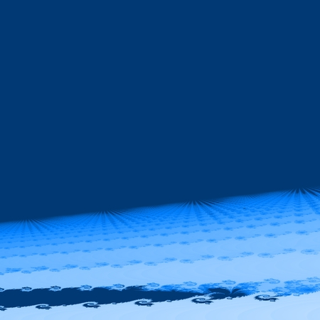 psychical: Blue white abstract fractal background Stock Photo