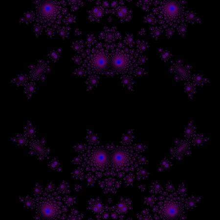 Seamless fractal pattern reminiscent of devil photo