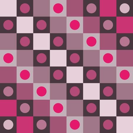 enfumaçado: Polka dot-de-rosa smoky abstratos fundo arte op