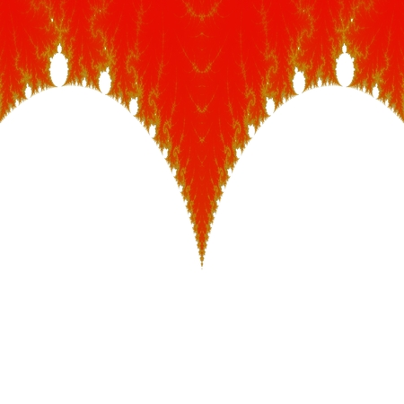 red gold: Abstract red gold white fractal background