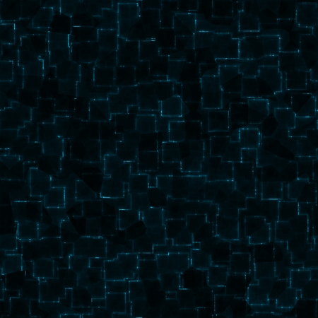 Abstract cybernetic background - computer generated seamless pattern