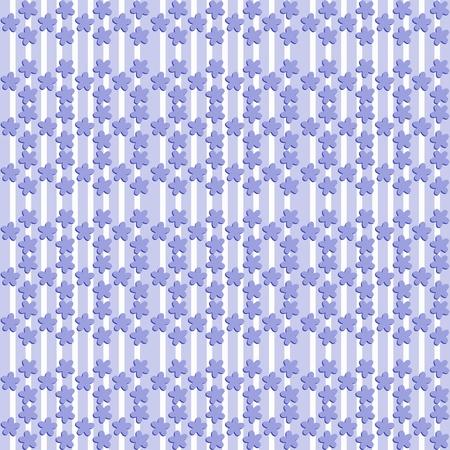 tonalit�: Motif bleut� avec la forme de la fleur de lin Banque d'images
