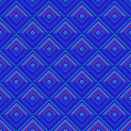 able: Blue decorative tile able pattern Stock Photo