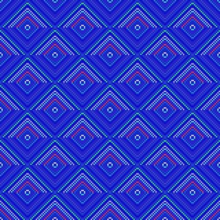 tile able: Blue decorative tile able pattern Stock Photo