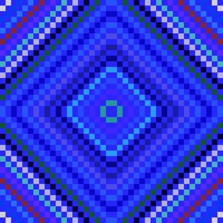 angular: Abstract decorative mosaic pattern composed of small angular tiles
