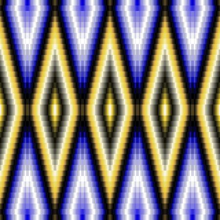 tile able: Modello astratto mosaico decorativo composto da piccole piastrelle angolari Vettoriali