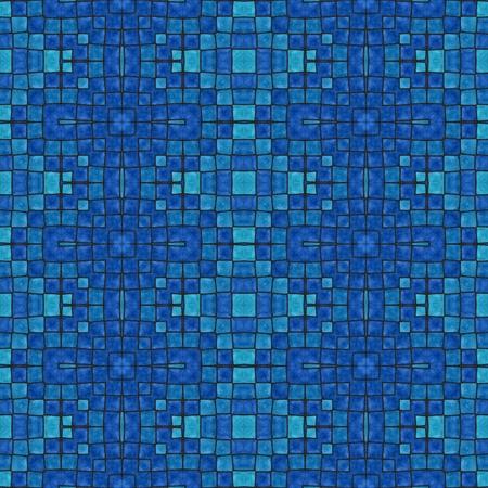 tonalit�: R�tro mod�le antique de tonalit� bleu mosa�que