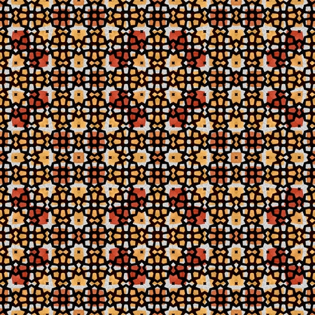 brown wallpaper: Abstract mosaic brown wallpaper