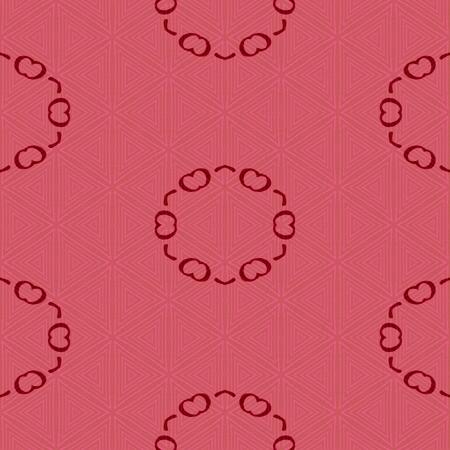 red pink: Red pink kaleidoscope pattern