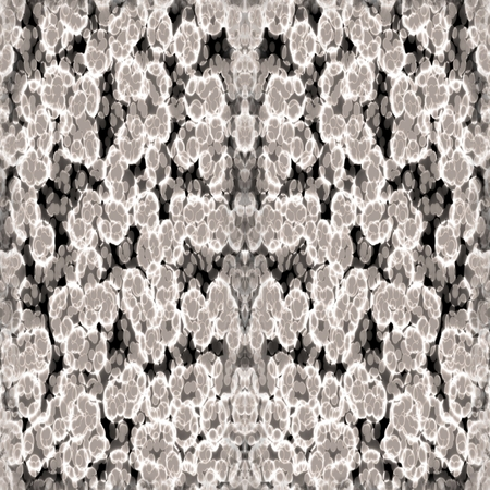 rendered: Abstract gray digitally rendered pattern resembling brain matter