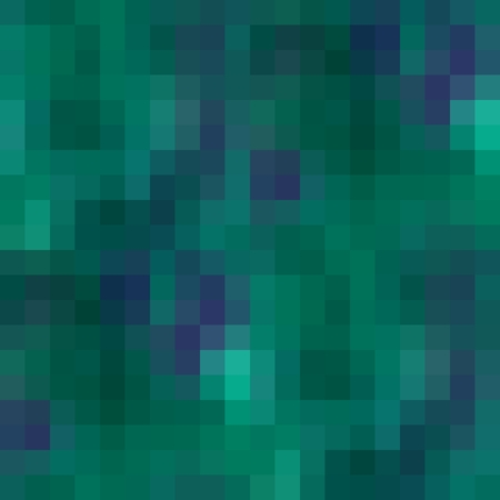 pixelation: Pixelated blue green abstract background
