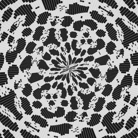 crocheted: Crocheted lace black white tileable background
